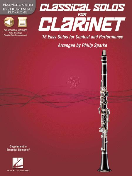 Classical Solos for Clarinet