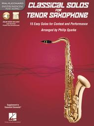 Classical Solos for Tenor Saxophone
