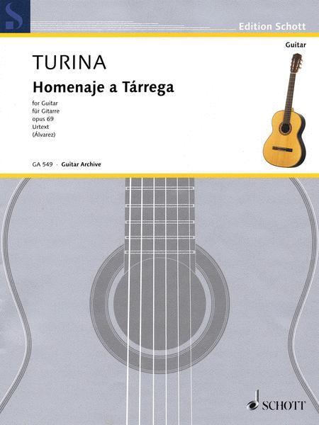 Homenaje A Tarrega Op. 69