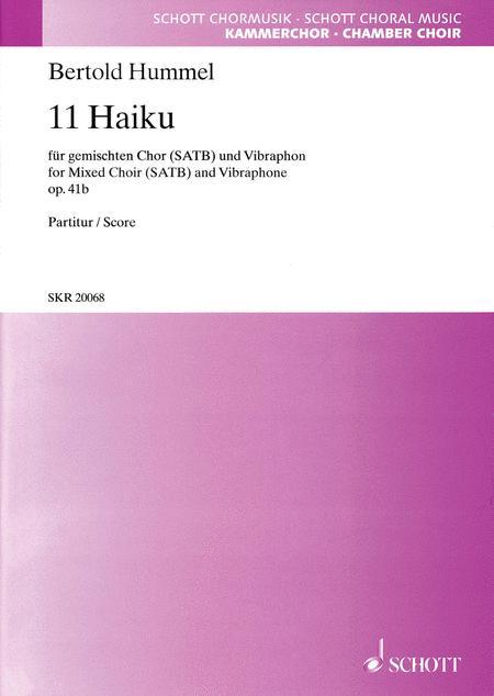11 Haiku op. 41b