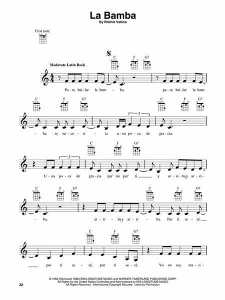 Preview 3-Chord Songs For Ukulele By Various (HL.701900) - Sheet ...