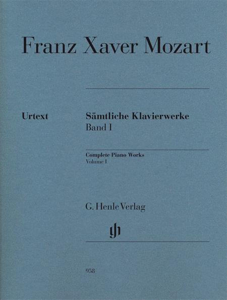 Complete Piano Works - Volume I