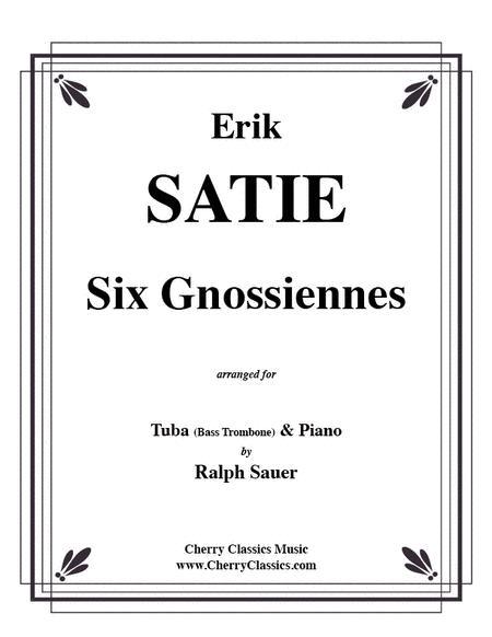 Six Gnossiennes for Tuba/Bass Trombone & Piano