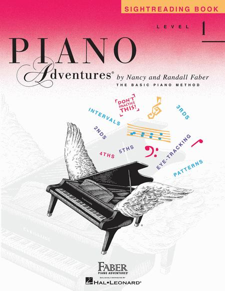 Piano Adventures Level 1 - Sightreading Book
