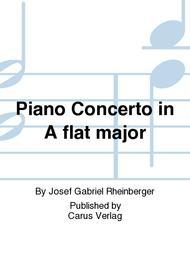Piano concerto in A flat major (Klavierkonzert in As)