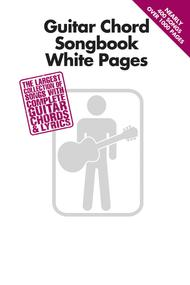 Guitar Chord Songbook White Pages