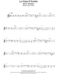 Download La Valse Damelie Sheet Music By Yann Tiersen