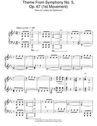 Theme from Symphony No. 5, Op. 67 (1st Movement)