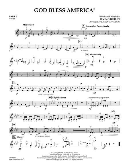 God Bless America - Pt.2 - Violin