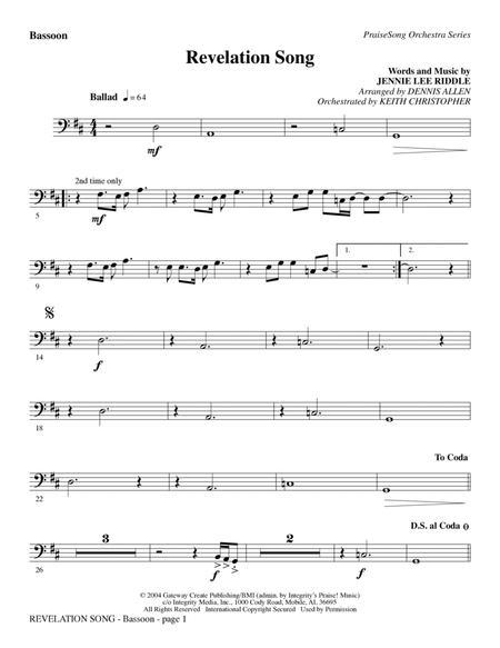 Revelation Song - Bb Trumpet 2-3