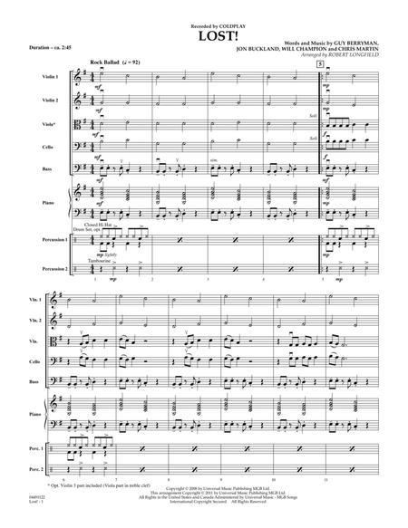 Lost! - Full Score
