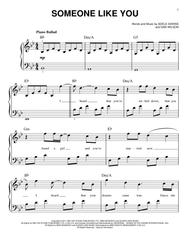 Download Someone Like You Sheet Music By Adele - Sheet Music Plus