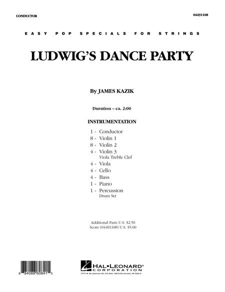 Ludwig's Dance Party - Full Score