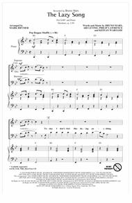 The Lazy Song (arr. Mark Brymer)