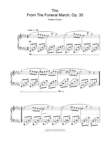 Trio From The Funeral March, Op. 35