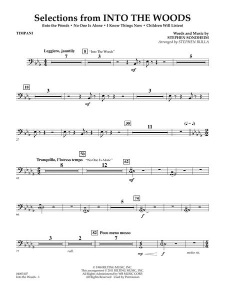 Selections from Into the Woods - Timpani