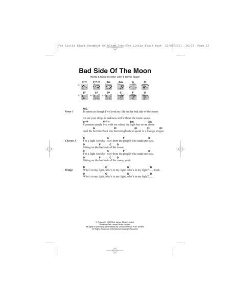 Bad Side Of The Moon