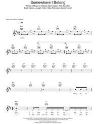 Download Somewhere I Belong Sheet Music By Linkin Park - Sheet Music