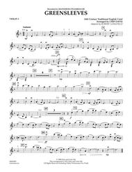 Greensleeves - Violin 1