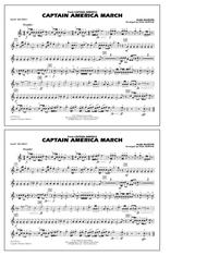 Captain America March - 2nd Bb Trumpet