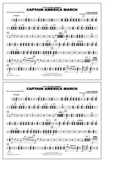 Captain America March - Multiple Bass Drums