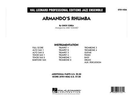 Armando's Rhumba - Conductor Score (Full Score)