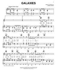 Download Galaxies Sheet Music By Owl City - Sheet Music Plus