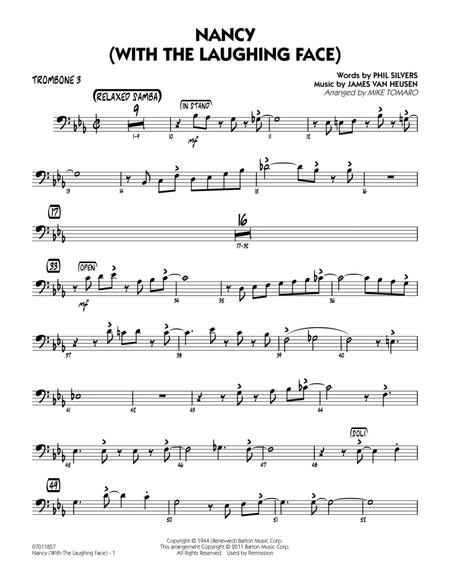 Nancy (With The Laughing Face) - Trombone 3