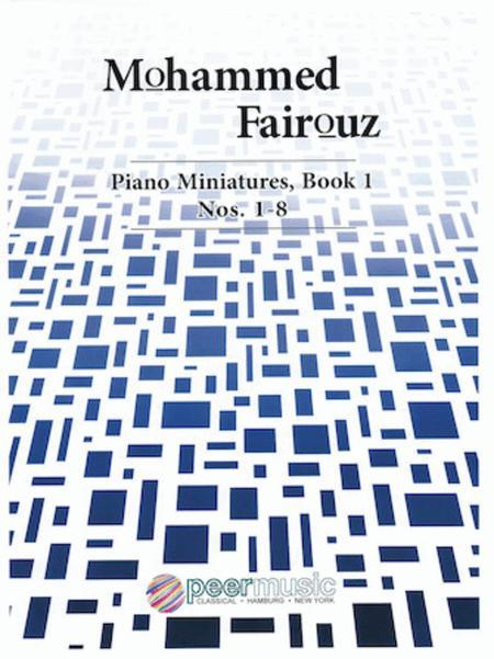 Piano Miniatures, Book 1, Nos. 1-8