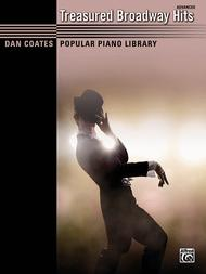 Dan Coates Popular Piano Library -- Treasured Broadway Hits