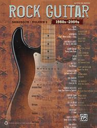 The Rock Guitar Songbook - Volume 2 (1980s-2000s)