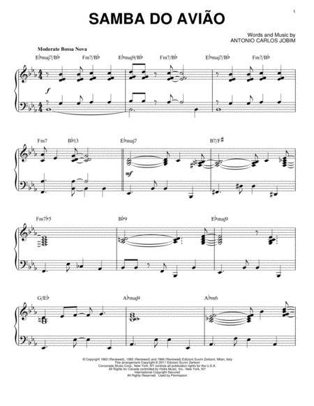 Song Of The Jet (Samba do Aviao)
