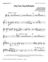 Sing Noel, Sing Hallelujah - Bb Trumpet 2,3