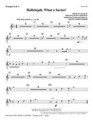 Hallelujah, What A Savior! - Bb Trumpet 1