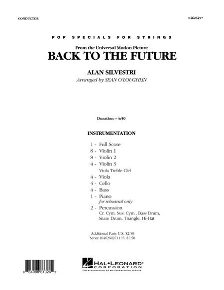 Back To The Future - Full Score