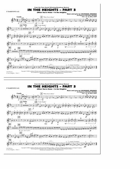 In The Heights: Part 3 - Eb Baritone Sax