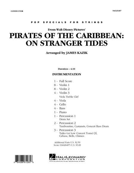 Pirates Of The Caribbean: On Stranger Tides - Full Score