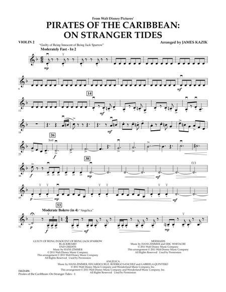 Pirates Of The Caribbean: On Stranger Tides - Violin 2