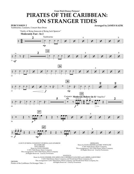 Pirates Of The Caribbean: On Stranger Tides - Percussion 2
