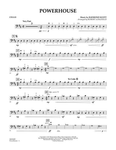 Powerhouse - Cello
