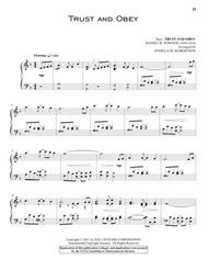 Download Trust And Obey Sheet Music By John H  Sammis - Sheet Music Plus