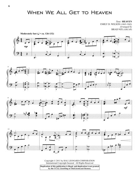 Download When We All Get To Heaven Sheet Music By Eliza E. Hewitt ...