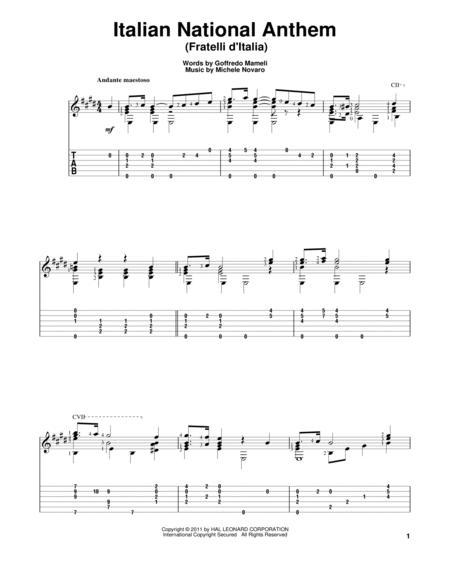 Italian National Anthem (Fratelli d'Italia)