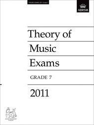 2011 Theory of Music Exams Grade 7