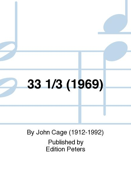 33 1/3 (1969)