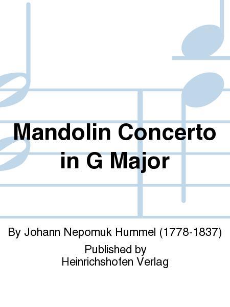 Mandolin Concerto in G Major