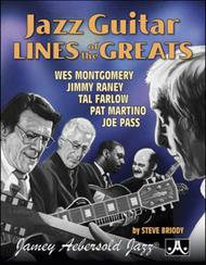 Jazz Guitar Lines Of The Greats