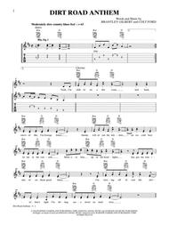 Dirt road anthem sheet music composed by arr barbara ann tenor.