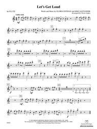 Let 039 S Get Loud Flute By Kike Santander And Gloria Estefan Digital Sheet Music For Part Download Print Ax 00 Pc 0015015 F1 Sheet Music Plus