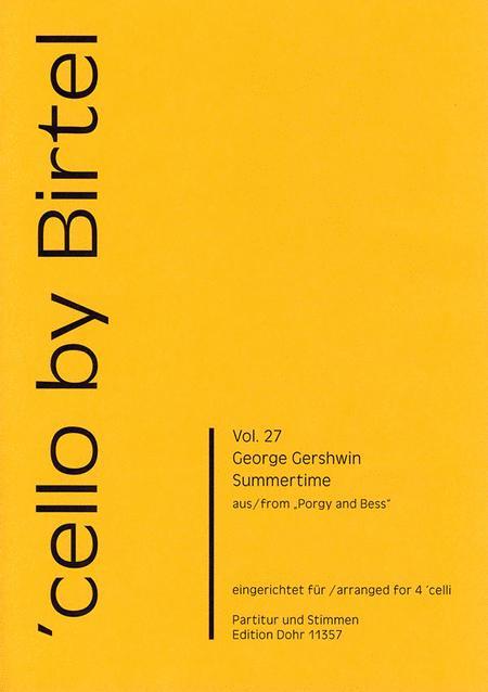 Summertime fur vier Violoncelli